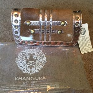 Brand new Khangura designer bag